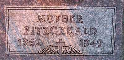FITZGERALD, MOTHER - Sioux County, Iowa   MOTHER FITZGERALD