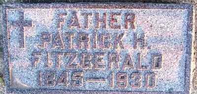 FITZGERALD, PATRICK H. - Sioux County, Iowa   PATRICK H. FITZGERALD