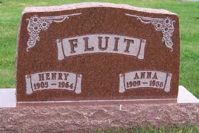 FLUIT, ANNA - Sioux County, Iowa | ANNA FLUIT