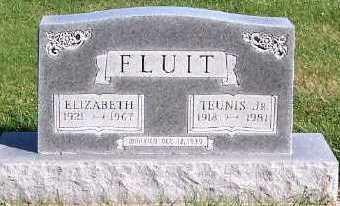 FLUIT, TEUNIS JR. - Sioux County, Iowa | TEUNIS JR. FLUIT