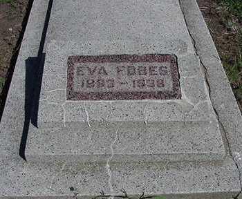 FOBES, EVA - Sioux County, Iowa | EVA FOBES