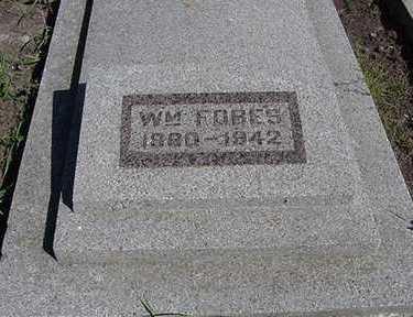 FOBES, WM. - Sioux County, Iowa | WM. FOBES