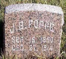 FOPPE, J. B. - Sioux County, Iowa | J. B. FOPPE