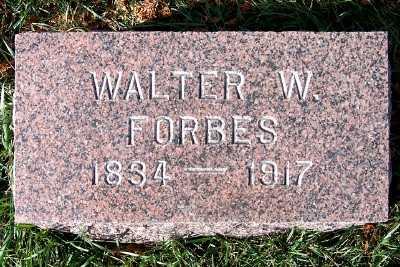 FORBES, WALTER W. - Sioux County, Iowa | WALTER W. FORBES