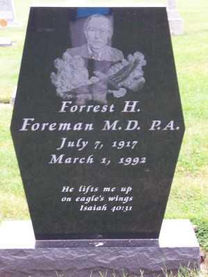 FOREMAN, FORREST H. - Sioux County, Iowa | FORREST H. FOREMAN