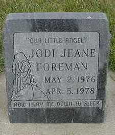 FOREMAN, JODI JEANE - Sioux County, Iowa | JODI JEANE FOREMAN