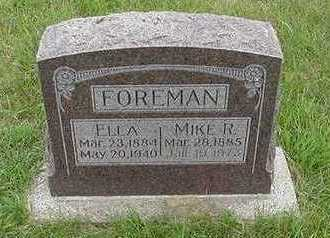 FOREMAN, MIKE R. - Sioux County, Iowa | MIKE R. FOREMAN