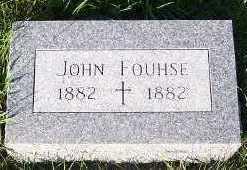 FOUHSE, JOHN - Sioux County, Iowa | JOHN FOUHSE