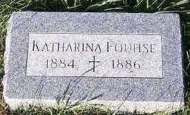 FOUHSE, KATHARINA - Sioux County, Iowa | KATHARINA FOUHSE