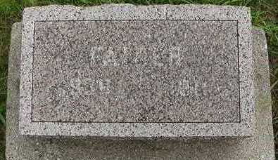 FRANKEN, FATHER D.1911 - Sioux County, Iowa   FATHER D.1911 FRANKEN