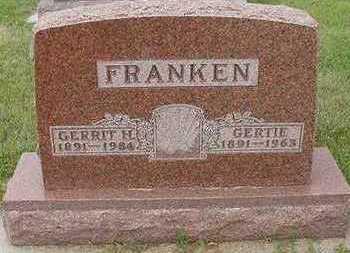 FRANKEN, GERRIT - Sioux County, Iowa | GERRIT FRANKEN