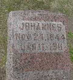 FRANKEN, JOHANNES - Sioux County, Iowa | JOHANNES FRANKEN
