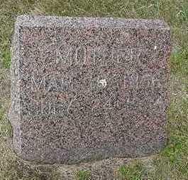 FRANKEN, MOTHER  D. 1934 - Sioux County, Iowa   MOTHER  D. 1934 FRANKEN