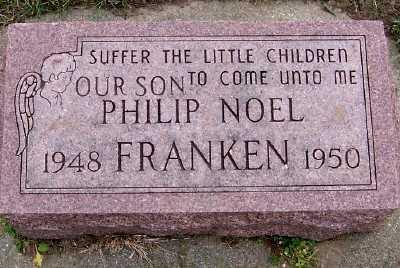 FRANKEN, PHILIP NOEL - Sioux County, Iowa | PHILIP NOEL FRANKEN