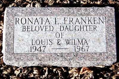 FRANKEN, RONATA L. - Sioux County, Iowa | RONATA L. FRANKEN