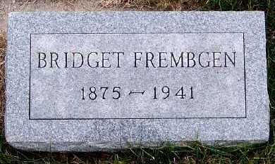 FREMBGEN, BRIDGET - Sioux County, Iowa | BRIDGET FREMBGEN