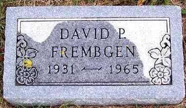 FREMBGEN, DAVID P. - Sioux County, Iowa | DAVID P. FREMBGEN