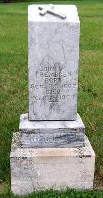 FREMBGEN, JOHN M. - Sioux County, Iowa | JOHN M. FREMBGEN
