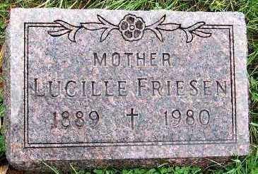 FRIESEN, LUCILLE - Sioux County, Iowa | LUCILLE FRIESEN