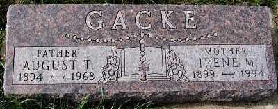 GACKE, IRENE M. - Sioux County, Iowa | IRENE M. GACKE