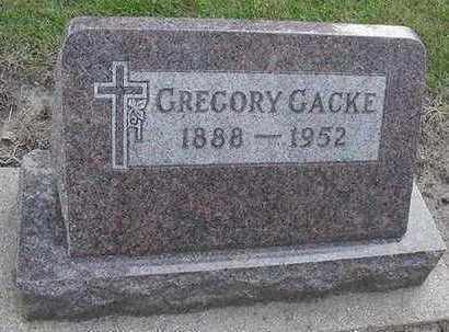 GACKE, GREGORY - Sioux County, Iowa | GREGORY GACKE