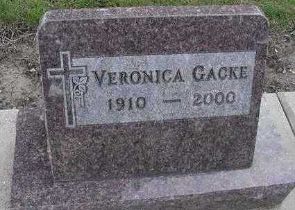 GACKE, VERONICA - Sioux County, Iowa | VERONICA GACKE