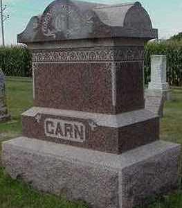 GARN, HEADSTONE - Sioux County, Iowa   HEADSTONE GARN