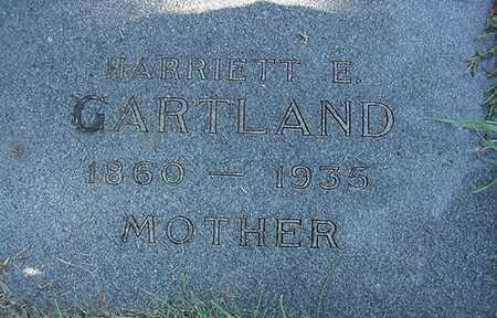 GARTLAND, HARRIET E. - Sioux County, Iowa | HARRIET E. GARTLAND
