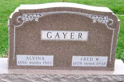 GAYER, ALVINA - Sioux County, Iowa | ALVINA GAYER