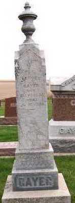 GAYER, JAKOB F. - Sioux County, Iowa | JAKOB F. GAYER