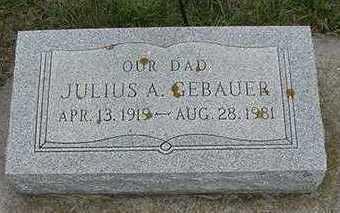 GEBAUER, JULIUS A. - Sioux County, Iowa | JULIUS A. GEBAUER