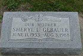 GEBAUER, SHERYL L. - Sioux County, Iowa | SHERYL L. GEBAUER