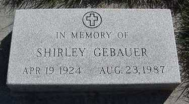 GEBAUER, SHIRLEY - Sioux County, Iowa | SHIRLEY GEBAUER