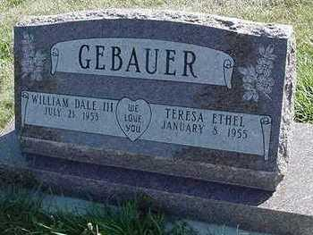 GEBAUER, WILLIAM DALE - Sioux County, Iowa | WILLIAM DALE GEBAUER
