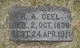 GEEL, H. A. - Sioux County, Iowa   H. A. GEEL