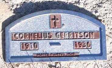 GERRITSON, CORNELIUS - Sioux County, Iowa   CORNELIUS GERRITSON