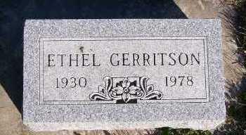 GERRITSON, ETHEL - Sioux County, Iowa | ETHEL GERRITSON