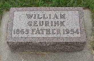GEURINK, WILLIAM - Sioux County, Iowa | WILLIAM GEURINK