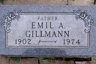 GILLMAN, EMIL A. - Sioux County, Iowa | EMIL A. GILLMAN