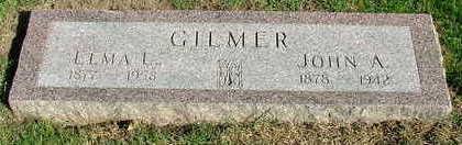GILMER, ELMA L. (MRS. JOHN A.) - Sioux County, Iowa   ELMA L. (MRS. JOHN A.) GILMER