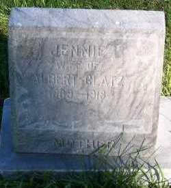 GLATZ, JENNIE (MRS. ALBERT) - Sioux County, Iowa | JENNIE (MRS. ALBERT) GLATZ