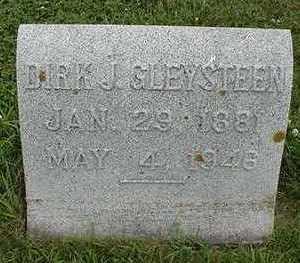 GLEYSTEEN, DIRK J. - Sioux County, Iowa   DIRK J. GLEYSTEEN