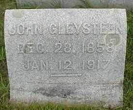 GLEYSTEEN, JOHN  D. 1917 - Sioux County, Iowa   JOHN  D. 1917 GLEYSTEEN