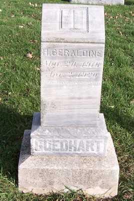 GOEDHART, H. GERALDINE - Sioux County, Iowa | H. GERALDINE GOEDHART