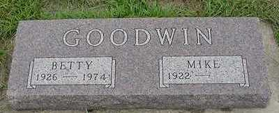 GOODWIN, BETTY - Sioux County, Iowa | BETTY GOODWIN