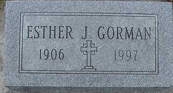GORMAN, ESTHER - Sioux County, Iowa | ESTHER GORMAN