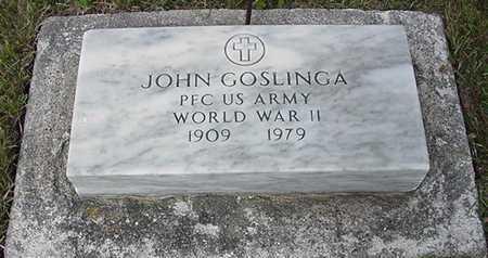 GOSLINGA, JOHN - Sioux County, Iowa | JOHN GOSLINGA