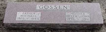 GOSSEN, MICHAEL - Sioux County, Iowa | MICHAEL GOSSEN
