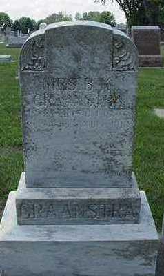 GRAANSTRA, B. K. MRS. - Sioux County, Iowa | B. K. MRS. GRAANSTRA