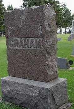 GRAHAM, HEADSTONE - Sioux County, Iowa | HEADSTONE GRAHAM